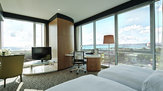 غرف فندق دبل تري هيلتون تركيا