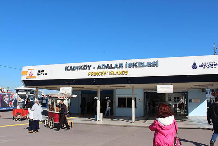 ميناء كابطاش كاباتاش اسطنبول جزر الاميرات
