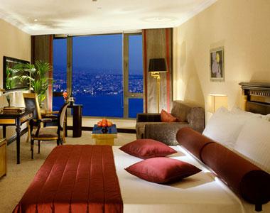 صورة غرفة فندق انتركونتيننتال اسطنبول