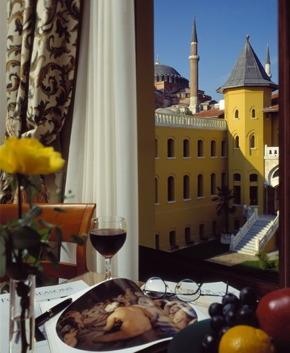 Hotels for History Buffs (Part 2): Four Seasons Hotel Istanbul at ...
